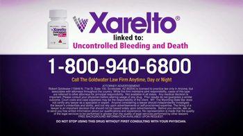 Goldwater Law Firm TV Spot, 'Xarelto Warning' - Thumbnail 6