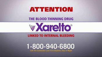 Goldwater Law Firm TV Spot, 'Xarelto Warning' - Thumbnail 1
