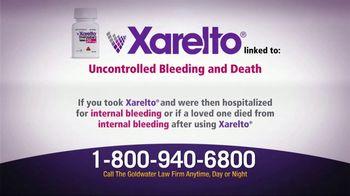 Goldwater Law Firm TV Spot, 'Xarelto Warning' - Thumbnail 2