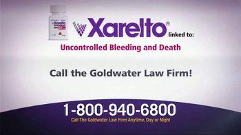 Goldwater Law Firm TV Spot, 'Xarelto Warning' - Thumbnail 3