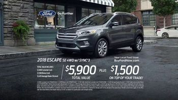 2018 Ford Escape TV Spot, 'Wanna See a Trick?' [T2] - Thumbnail 8