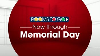 Rooms to Go TV Spot, 'Memorial Day: Pick Your Bed, Pick Your Color' - Thumbnail 1