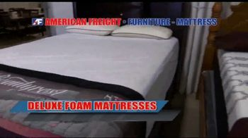 American Freight Inventory Clearance TV Spot, 'Mattresses and Sofas' - Thumbnail 2
