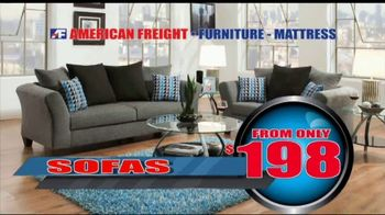 American Freight Inventory Clearance TV Spot, 'Mattresses and Sofas' - Thumbnail 4