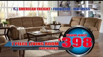 American Freight Inventory Clearance TV Spot, 'Mattresses and Sofas' - Thumbnail 5