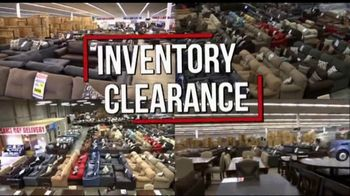 American Freight Inventory Clearance TV Spot, 'Mattresses and Sofas'
