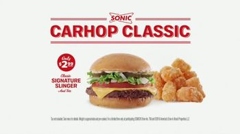 Sonic Drive-In Carhop Classic TV Spot, 'Seeing Double' - Thumbnail 7