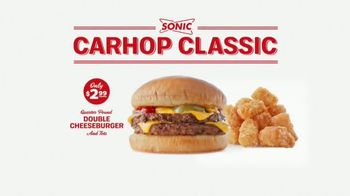 Sonic Drive-In Carhop Classic TV Spot, 'Seeing Double' - Thumbnail 6
