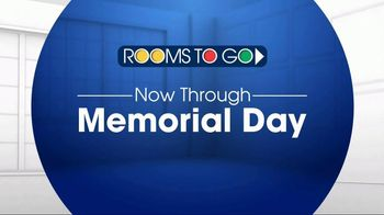 Rooms to Go TV Spot, 'Memorial Day: Leather Sectional' - Thumbnail 1