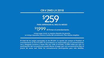 2018 Honda CR-V TV Spot, 'Apreciar el momento' [Spanish] [T2] - Thumbnail 9