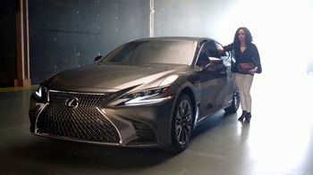 Lexus LS 500 TV Spot, 'Food Network: Newest Iron Chef' Ft. Stephanie Izard [T1] - 24 commercial airings