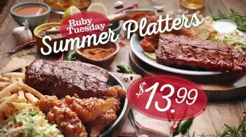 Ruby Tuesday Summer Platters TV Spot, 'Heat or Sweet?' Feat. Rachel Dratch - Thumbnail 8