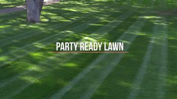 John Deere X350 TV Spot, 'Party Ready Lawn' - Thumbnail 2