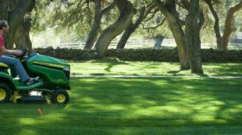 John Deere X350 TV Spot, 'Party Ready Lawn' - Thumbnail 7