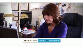 SmartBiz SBA 7(a) Loan TV Spot, 'Get Approved for an SBA Loan Online'