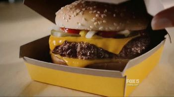 McDonald's Quarter Pounder TV Spot, 'Hot and Juicy' - Thumbnail 1