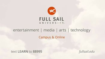 Full Sail University TV Spot, 'Dreamers: Start Here' - Thumbnail 10