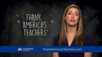 Farmers Insurance TV Spot, 'CBS: Teacher Appreciation' Featuring Zoe Perry - 5 commercial airings