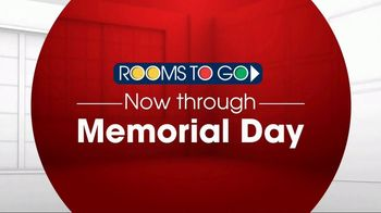 Rooms to Go TV Spot, 'Memorial Day: Storage Beds' - Thumbnail 1