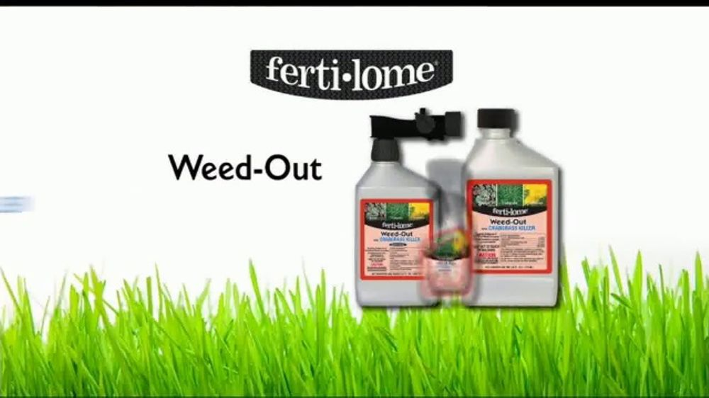 Ferti-lome Weed-Out With Crabgrass Killer TV Commercial, 'Down to the Root'