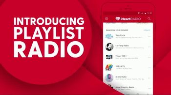 iHeartRadio TV Spot, 'Playlist Radio'