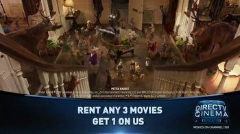 DIRECTV Cinema TV Spot, 'Rent Three, Get One Free' - Thumbnail 10