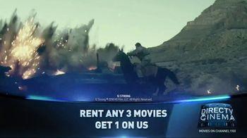 DIRECTV Cinema TV Spot, 'Rent Three, Get One Free' - Thumbnail 9
