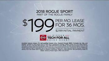 Nissan Tech for All Sales Event TV Spot, 'Latest Tech' [T2] - Thumbnail 7