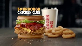 Burger King Sourdough Chicken Club TV Spot, 'In the Club' - Thumbnail 8