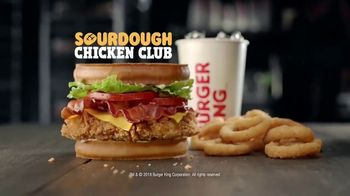 Burger King Sourdough Chicken Club TV Spot, 'In the Club' - Thumbnail 9