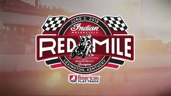 American Flat Track TV Spot, '2018 Indian Motorcycle Red Mile'