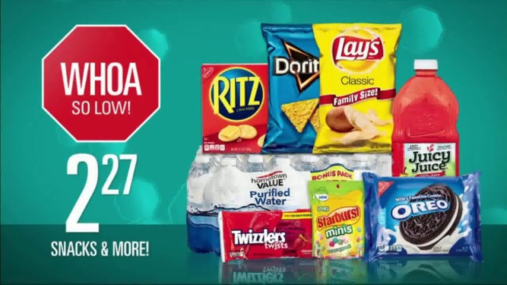 Shopko Stop, Shop and Drop Prices TV Commercial, 'Soda and Snacks'