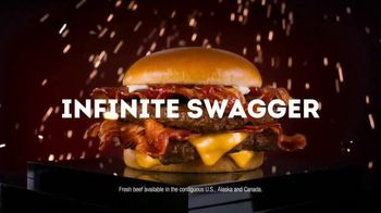 Wendy's Baconator TV Spot, 'Infinite Swagger'