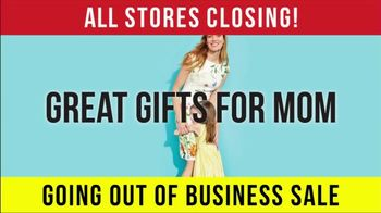Going Out of Business Sale: Mother's Day thumbnail