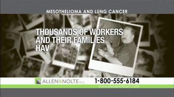 Allen & Nolte, PLLC TV Spot, 'Mesothelioma and Lung Cancer'