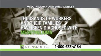 Allen & Nolte, PLLC TV Spot, 'Mesothelioma and Lung Cancer' - Thumbnail 2