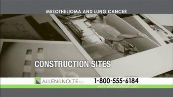 Allen & Nolte, PLLC TV Spot, 'Mesothelioma and Lung Cancer' - Thumbnail 3