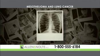 Allen & Nolte, PLLC TV Spot, 'Mesothelioma and Lung Cancer' - Thumbnail 5