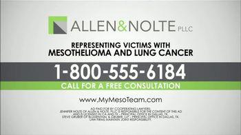Allen & Nolte, PLLC TV Spot, 'Mesothelioma and Lung Cancer' - Thumbnail 7