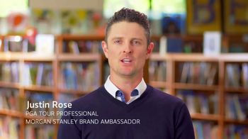 Morgan Stanley TV Spot, 'Eagles for Impact Challenge' Featuring Justin Rose - Thumbnail 4