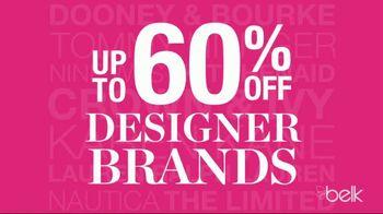 Belk Friends & Family Sale TV Spot, 'Designer Brands' - Thumbnail 3