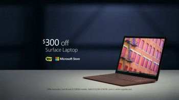 Microsoft Surface TV Spot, 'Courtney Quinn: $300 Off' - Thumbnail 10