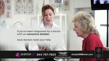 EMPOWUR TV Spot, 'Overactive Bladder Research Study'