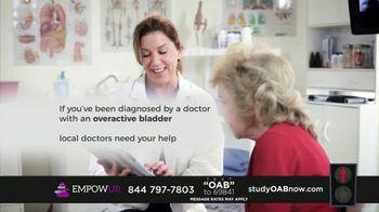 EMPOWUR TV Spot, 'Overactive Bladder Research Study' - Thumbnail 3