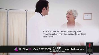 EMPOWUR TV Spot, 'Overactive Bladder Research Study' - Thumbnail 4