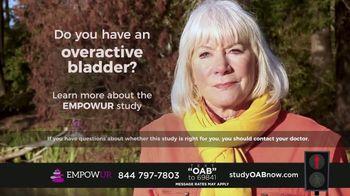 EMPOWUR TV Spot, 'Overactive Bladder Research Study' - Thumbnail 5