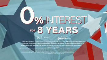 Ashley HomeStore Memorial Day Sale TV Spot, 'No-Interest Mattress Deals' - Thumbnail 4