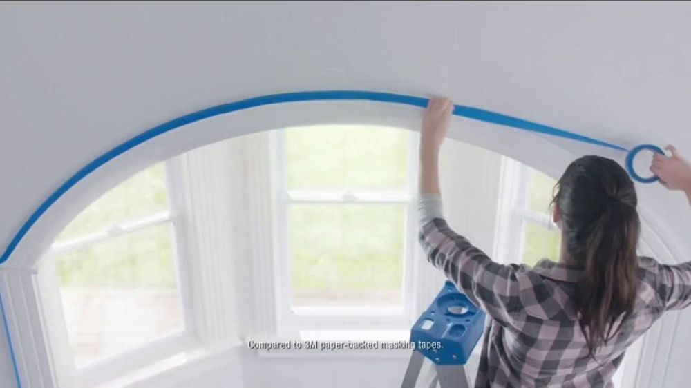Scotch Blue Platinum Painter's Tape TV Commercial, 'Quicker and Easier'