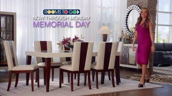 Rooms to Go TV Spot, 'Memorial Day: Sofia Vergara Collection'