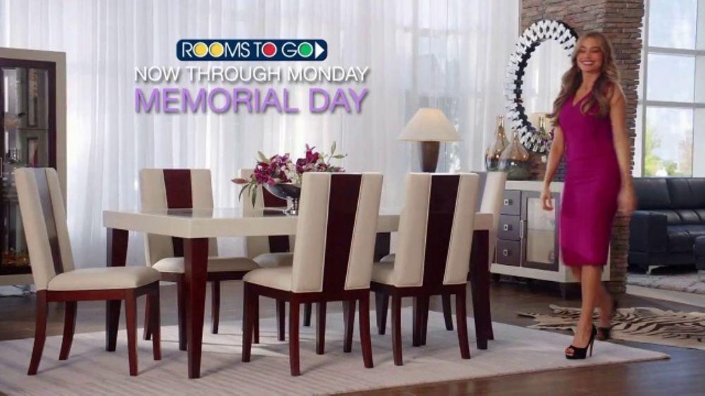 Rooms To Go Tv Commercial 2018 Memorial Day Sofia Vergara